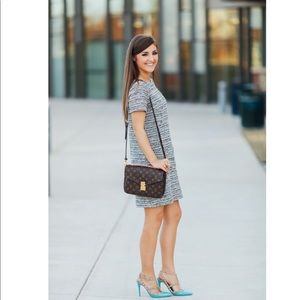 Loft Boucle Pocket Dress